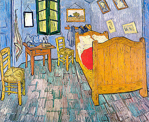 Vincent Van Gogh-Vincents Bedroom In Arles