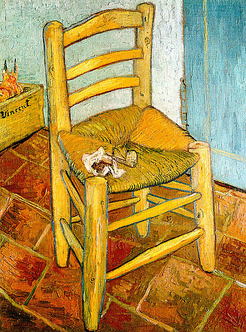 Vincent Van Gogh-Vincents Chair