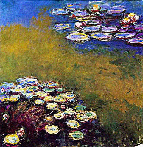 Claude Monet-Water Lilies 1914 1917