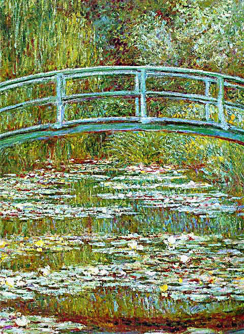Claude Monet-Water Lily Pond 1899