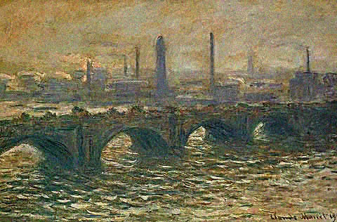 Claude Monet-Waterloo Bridge 1902