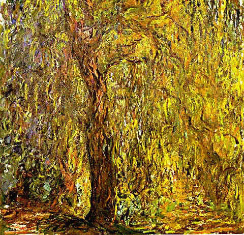 Claude Monet-Weeping Willow