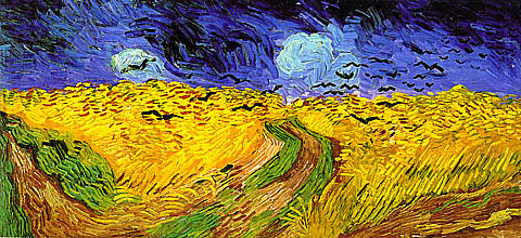 Vincent Van Gogh-Wheat Field With Crows