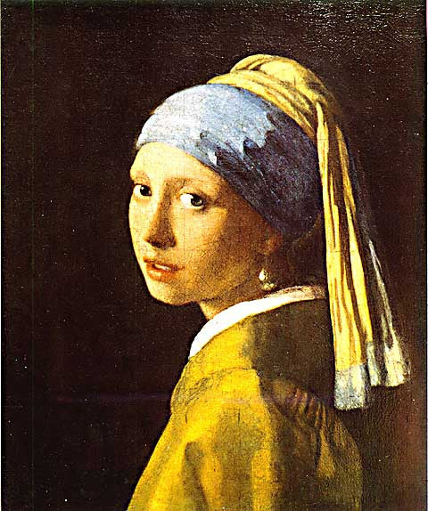 Jan Vermeer-The Girl With The Pearl Earring