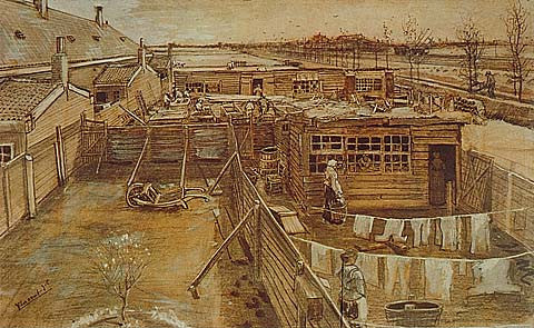 Vincent Van Gogh-Workshop 1882