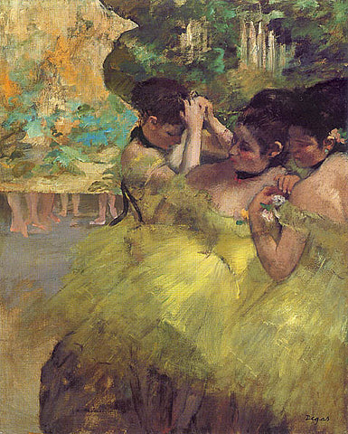 Edgar Degas-Yellow Dancers