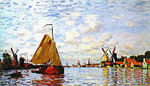 Claude Monet-Zaan at Zaandam