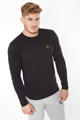 Lombordy Long Sleeve Tee - Black - Lombordy
