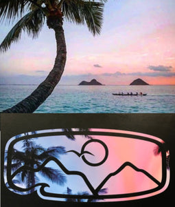 Kailua Sunset Decal