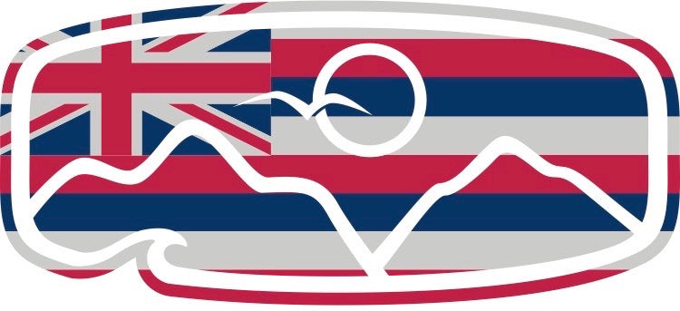 Hawaiian Decal