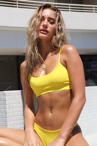 NICOLA CANARY YELLOW TOP