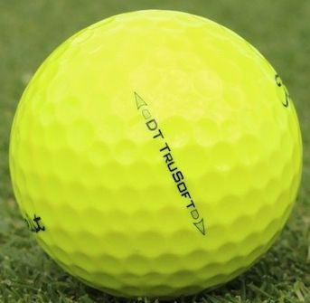 Titleist DT TruSoft - TruFeel Yellow Mix