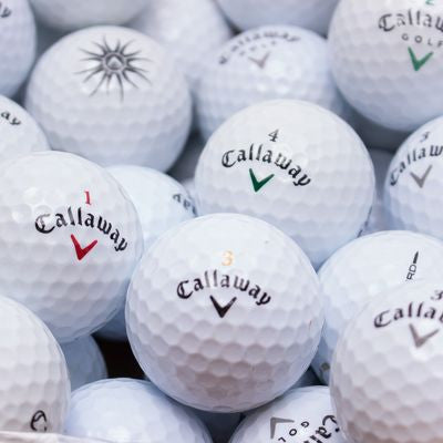 50 Callaway Quality Mix with Free Putting Cup
