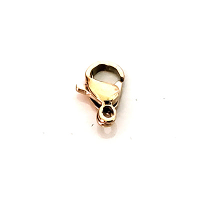 10mm Rose Gold Lobster Clasps, Stainless Steel Real Rose Gold Plated, Lot Size 50 Clasps, #1330 RG