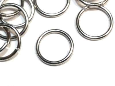 Heavy Duty Stainless Steel Jump Rings, 1.2mm thick