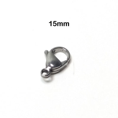 15mm lobster clasp