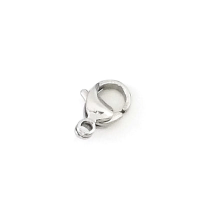 16mm Lobster Clasps, Stainless Steel, Lot Size 50 Clasps