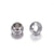 4mm Stainless Steel Beads, Solid Wall, 4x3mm, 2.2mm hole, Lot Size 1000 Beads, #1501 A