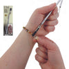 EZ-Hook® Bracelet Fastener Jewelry Tool, 3-in-1 Necklace Fastener, Zipper Puller, Button Buttoner, #1601