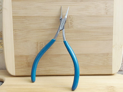 Ultra Fine Tip Chain Nose Pliers, No Return Spring #1041