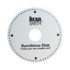 Kumihimo Disk, Double Density, 64 Slots, 6 Inches, 20mm Thick, 35mm Hole, #665
