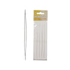 Long Big Eye Needles, 5 Inches, Card of 4 Needles, LE5-4