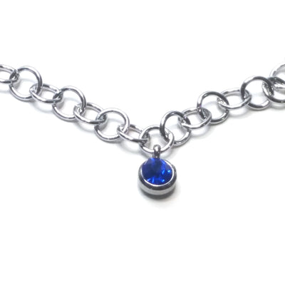 Round Stainless Steel Jewelry Chain, Open Links, 5.5mm Diameter, 1mm Thick, 25 Meters #1952 U