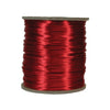 Wine Rattail, 1mm, Size #0, 70 Yard Spool, USA Made, RTWI0