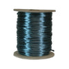 Teal Rattail, 1mm, Size #0, 70 Yard Spool, USA Made, RTTE0