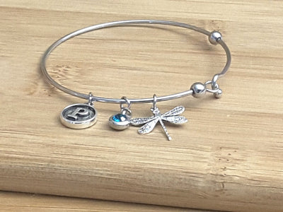 Simple Charm Bracelet Blank, Stainless Steel Finding 60mm, 1.8mm thick, Lot Size 10 Bracelets, #1802