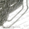 Stainless Twist Chain, 316 Grade, 4.5x1mm, Open Links, 25 Meters, #1924