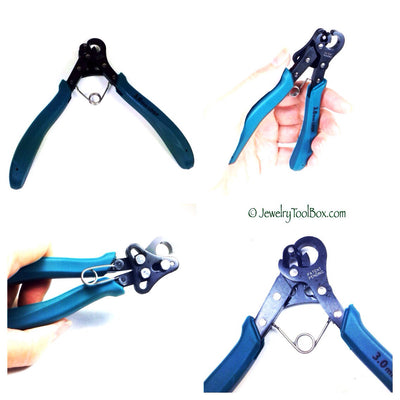 One Step BIG Looper, Loop Making Pliers, 4mm Loops, Jewelry Making Pliers, Eyepin Maker, Create and Trim Loops in 1 Step, #1159