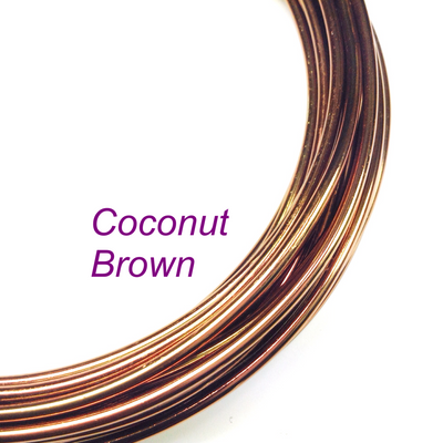 Coconut Brown Aluminum Wire