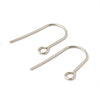 Minimalist Ear Wire, Stainless Steel Earrings Hooks, 500 Pieces, #1322
