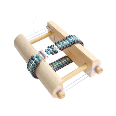 Endless Loom, No Warp Threads, Endless Beading Loom, Bracelet Making Tool, Travel Loom