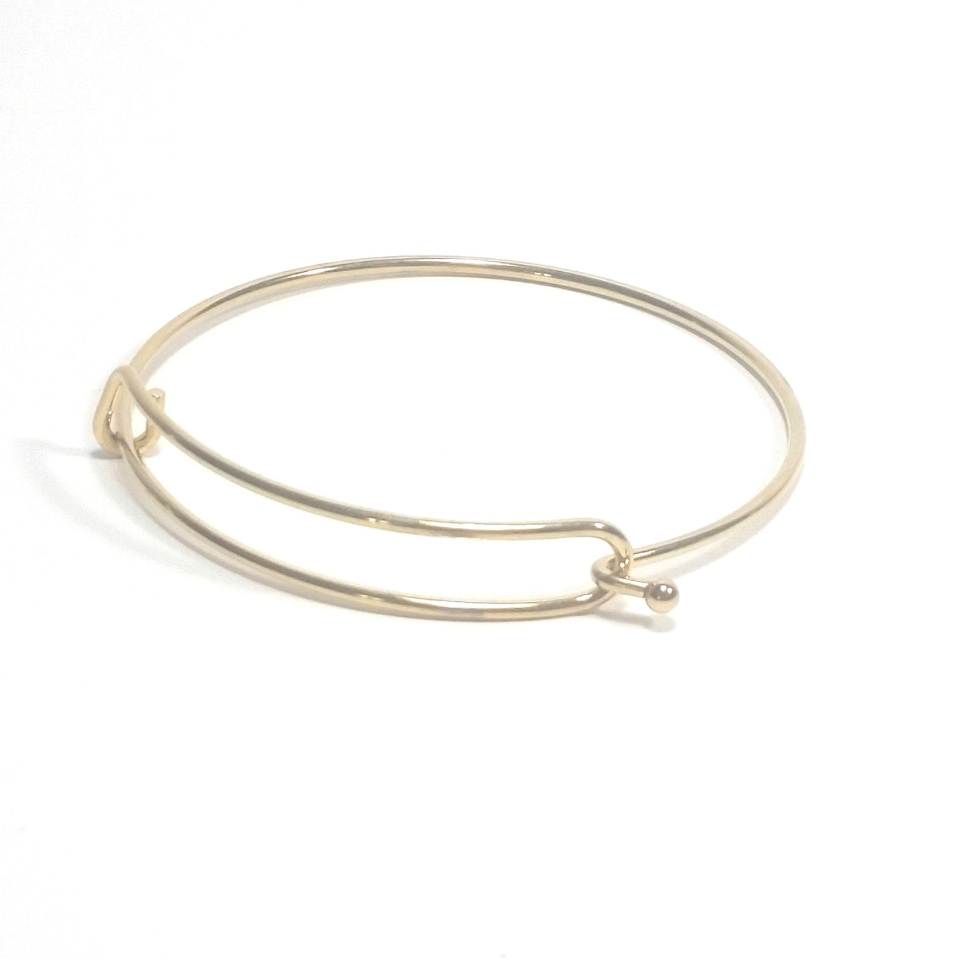 Infinity Bangle Bracelet Stainless Steel Charm Jewelry Finding