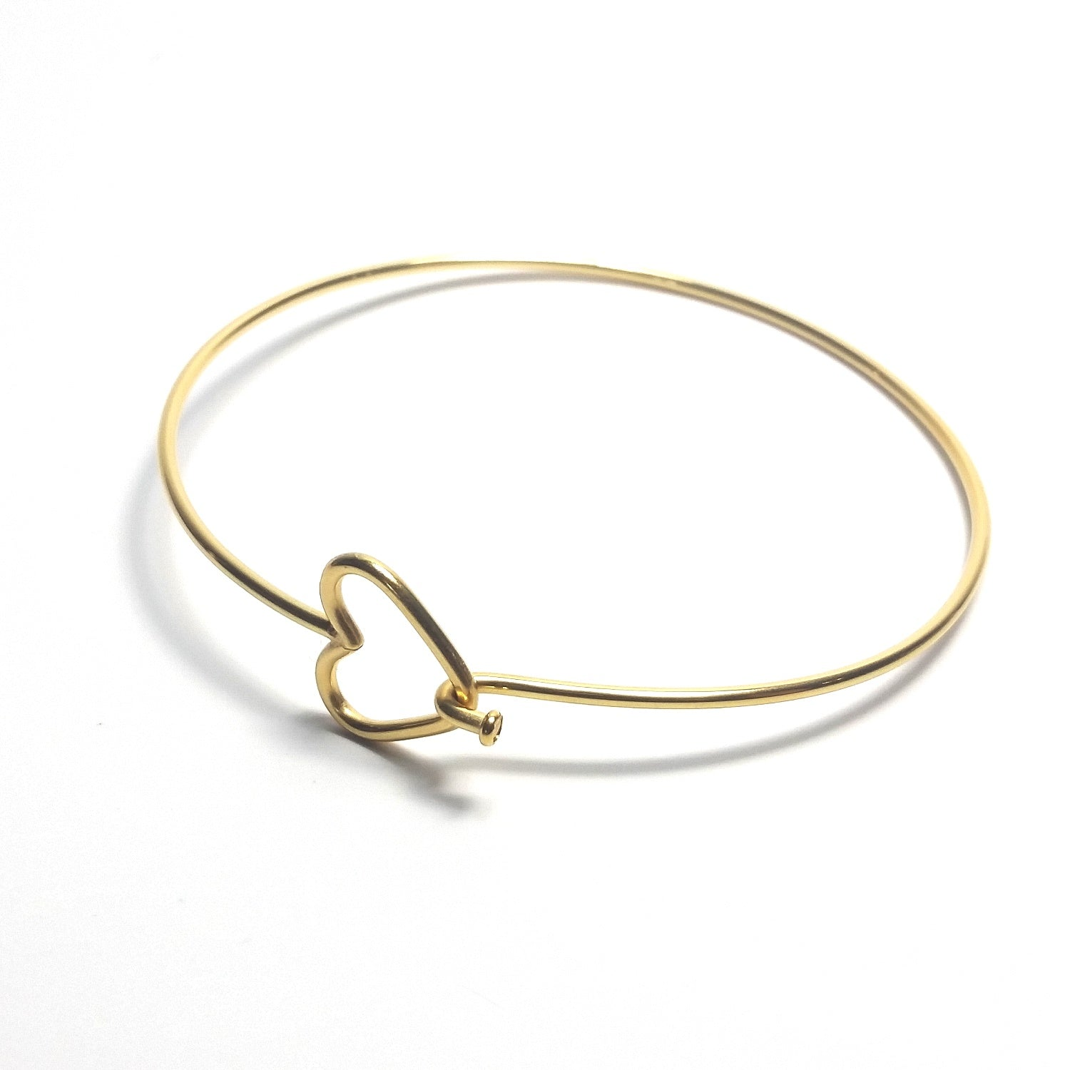 overstock gold shipping jewelry bangle bracelets textured bangles polished today karat free watches product
