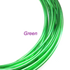 Green Aluminum Wire