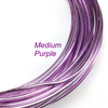 Medium Purple Aluminum Wire