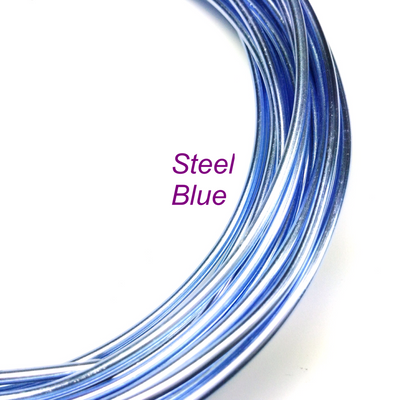 Steel Blue Aluminum Wire