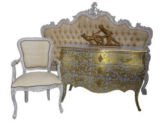 French style furniture.