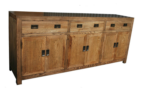 European oak buffet large