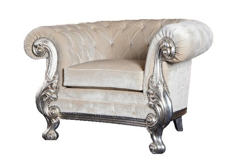 French style Chester accent chair