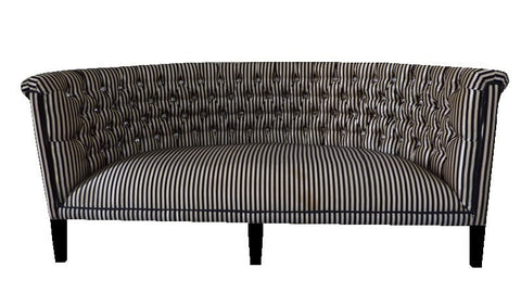Unique demi lune sofa