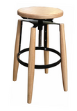 G. D. industrial style barstool