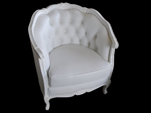 NYC French style accent chair.