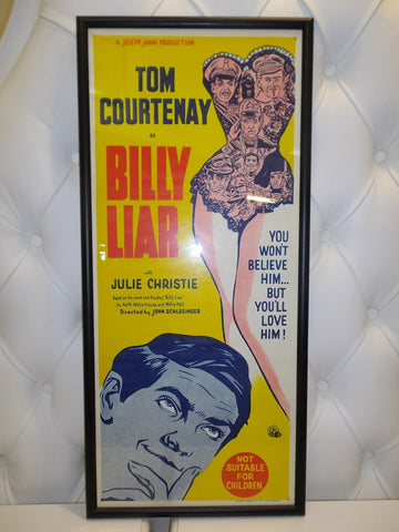 Billy liar vintage retro movie print