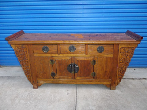 Antique Chinese altar buffet