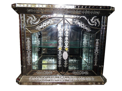 Unique Venetian mirror buffet