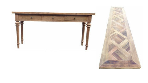 Madeliene French style console table.